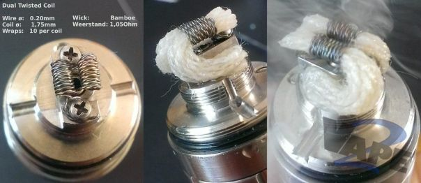 Dual Twisted Coil