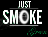 logo just smoke green