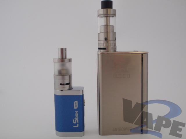 2Vape mini mod Review voor Just Smoke Green _0037