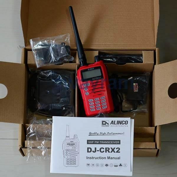 วิทยุสื่อสาร ALINCO DJ-CRX2