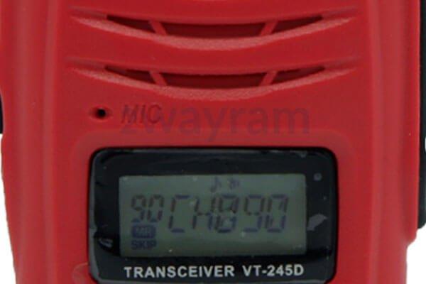 หน้าจอวิทยุสื่อสาร V-TECH VT-245D