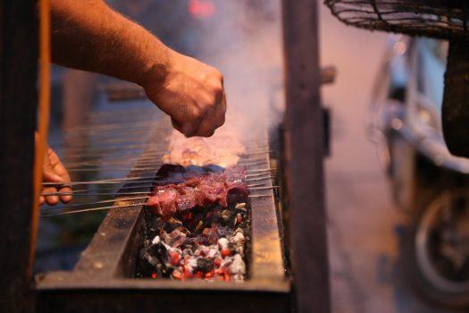 Xinjiang cuisine Uighur cuisine Chuar Skewered meat
