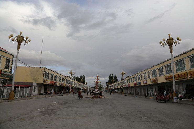 tashkurgan main street shops