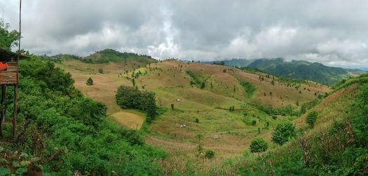 Hsipaw trek scenery 2 day trek