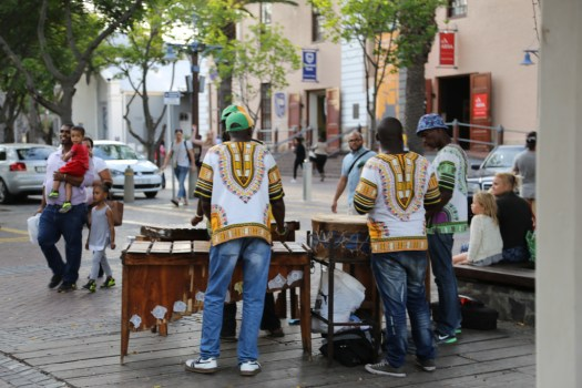 Drummers in Cape Town