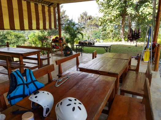 The office of Thai Adventure Rafting is located in Pai