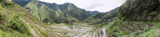 Panorama of Batad