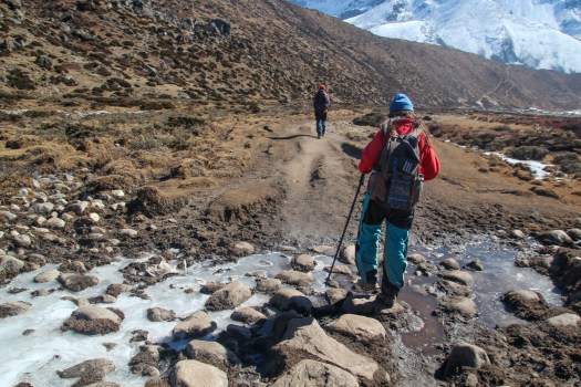 A good pair of hiking boots keep your feet dry when crossing streams