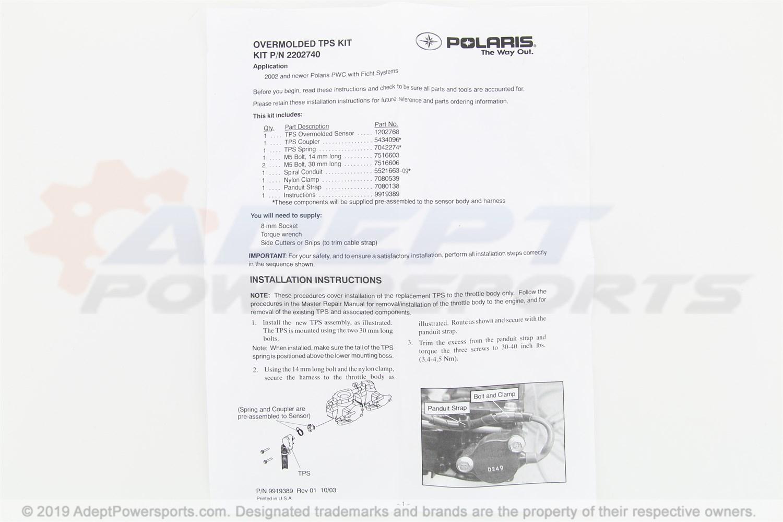 Polaris Throttle Position Sensor Kit