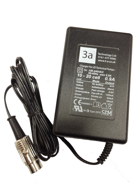 JD – 0.9A 5-Pin – Type 2215 Battery Charger (Older JD8/16T)