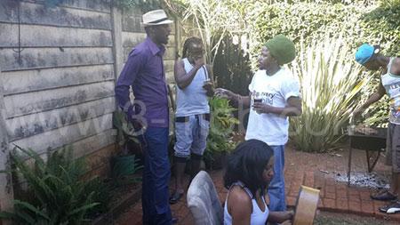 Mudiwa, Ammara Brown, Will;is Wataffi with 3-mob's Larry Kwirirayi