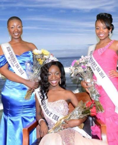 Wadzanai Thembani with 1st Princess Snono Sibanda, and 2nd Princess Nyasha Michelle.