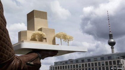 The proposed structure which will host a synagoggue, church and mosque -  PIC Getty Images/BBC