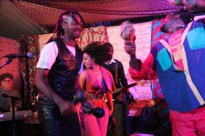 Roki and Ammara Brown at Chiwoniso's tribute show -  PIC: Fungai Foto/Zimbojam
