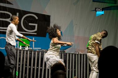 Ammara Brown performs Havarare