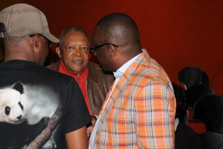 Guest of honour Hugh Masekela at the Victor Kunonga album launch - PIC: Ngoma nEHOSHO