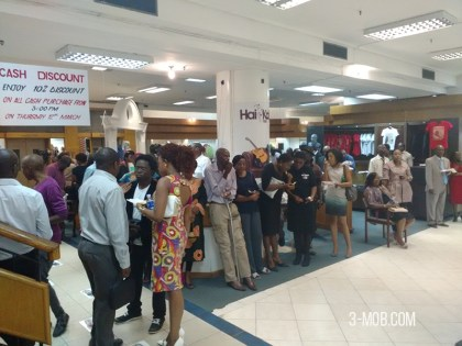 Guests wait for the Hai-kobo launch