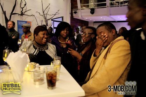 Media personalities have a laugh at the Zambezi Magic Launch