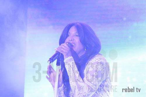 Toni Braxton live in Harare PIC: 3-mob.com/Rebel TV