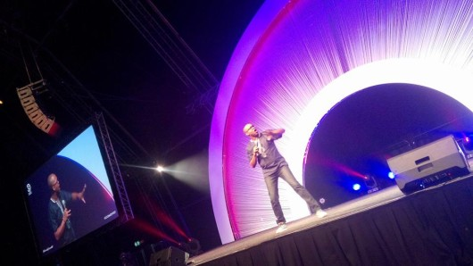 Carl Joshua Ncube at Comedy Central International Comedy Festival PIC: Nelsy Ncube