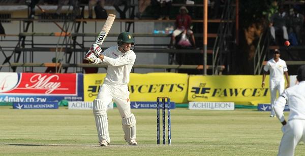 Craig Ervine's fighting half-century rescued Zimbabwe's innings PIC: Zimbabwe Cricket