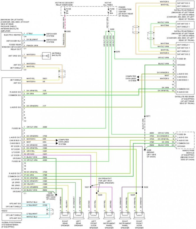 2007 chrysler 300 radio wiring diagram 2007 image 2005 chrysler 300 wiring diagram 2005 image wiring on 2007 chrysler 300 radio wiring