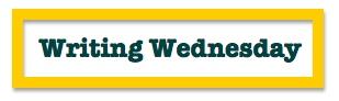 Writing Wednesday