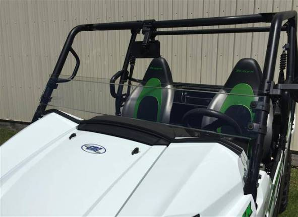 Polycarbonate With Coating Windshield for Golf Carts