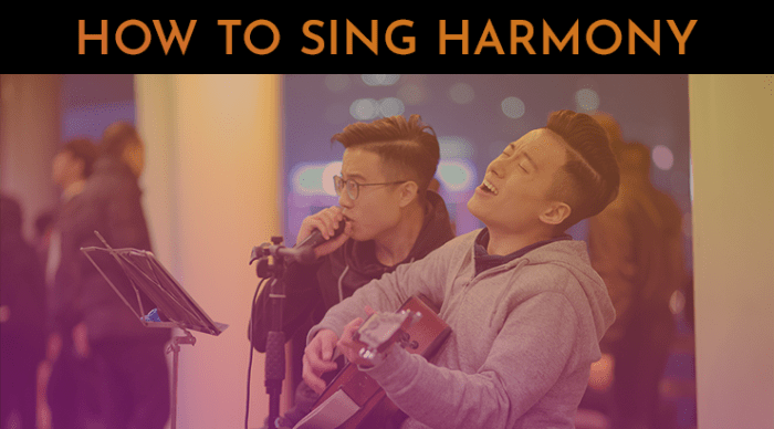 how to sing harmony. 30 day singer. harmony