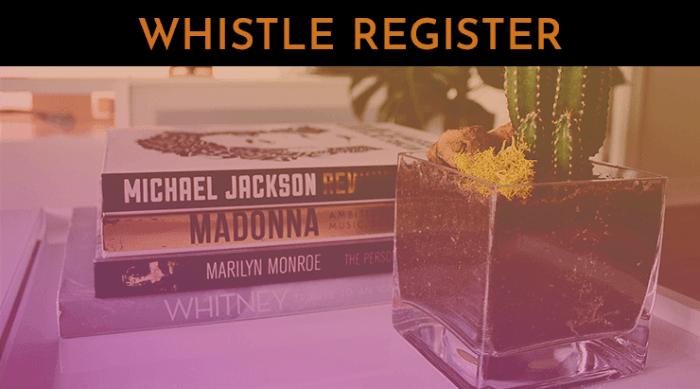 whistle register
