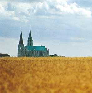 La Cattedrale di Notre-Dame de Chartres, in Francia