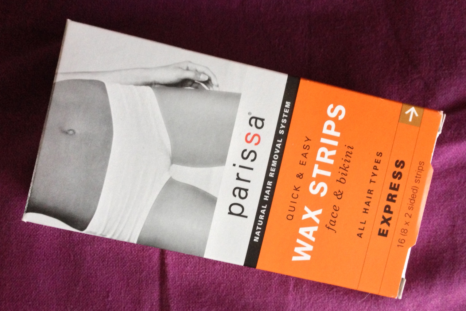 Quick and easy wax strips face and bikini