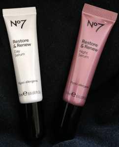 No 7 Restore & Renew Day & Night Serum