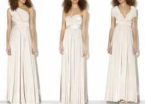 New Look Cream 15-in-1 Maxi Prom Dress