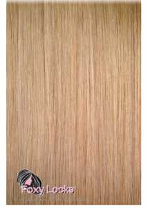"Foxylocks Caramel Blonde #20 - Volumizer 20"" Clip In Human Hair Extensions 50g £46.00"