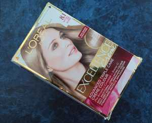 L'Oreal Excellence Creme in 8.1 Natural Ash Blonde