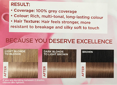 Loreal Excellence Creme In 81 Natural Ash Blonde 30somethingmel