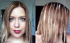 L'Oreal Preference Glam Bronde No.4 - During developement, this was my placement of the product