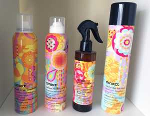 Amika - Silken Up Dry Conditioner, Un.done Texture Spray, Bombshell Blowout Spray and Touchable Hairspray