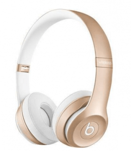 BEATS BY DR DRE Solo 2 Wireless Bluetooth Headphones in Gold