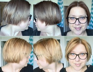L'Oreal Colorista Ombre Kit before and after