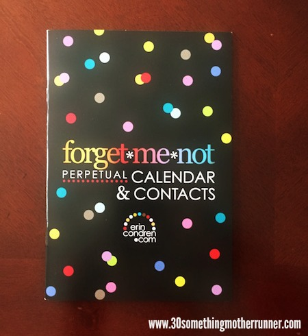 Forget Me Not Calendar