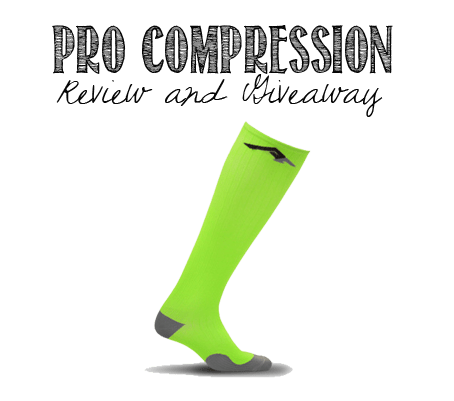 PRO Compression Marathon Sock Lime