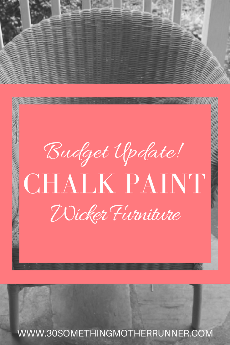 Update your wicker furniture on a budget with chalk paint