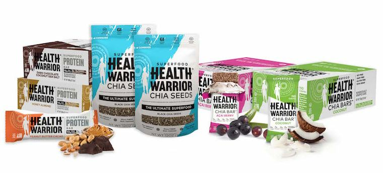 Health Warrior Product Lineup