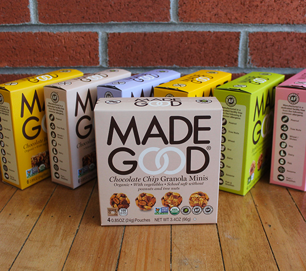 MadeGood Granola Minis & Bars ~ Free From 8 Common Allergens!