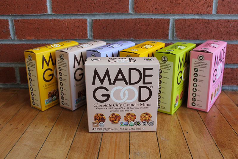 MadeGood Snacks Feature
