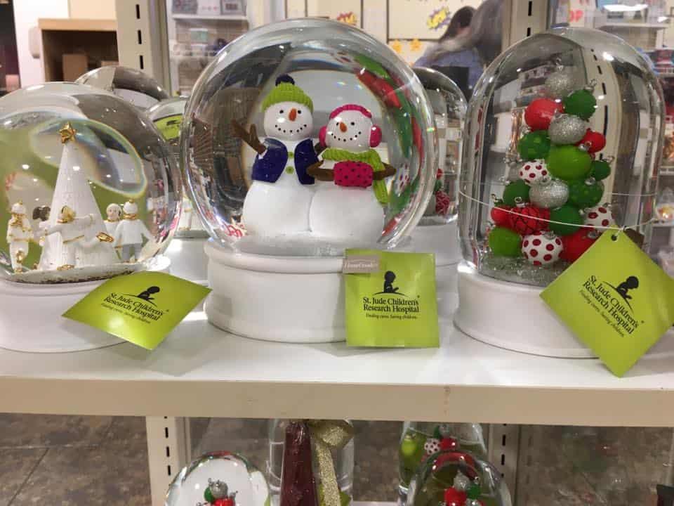 St. Jude Snow Globes Home Goods