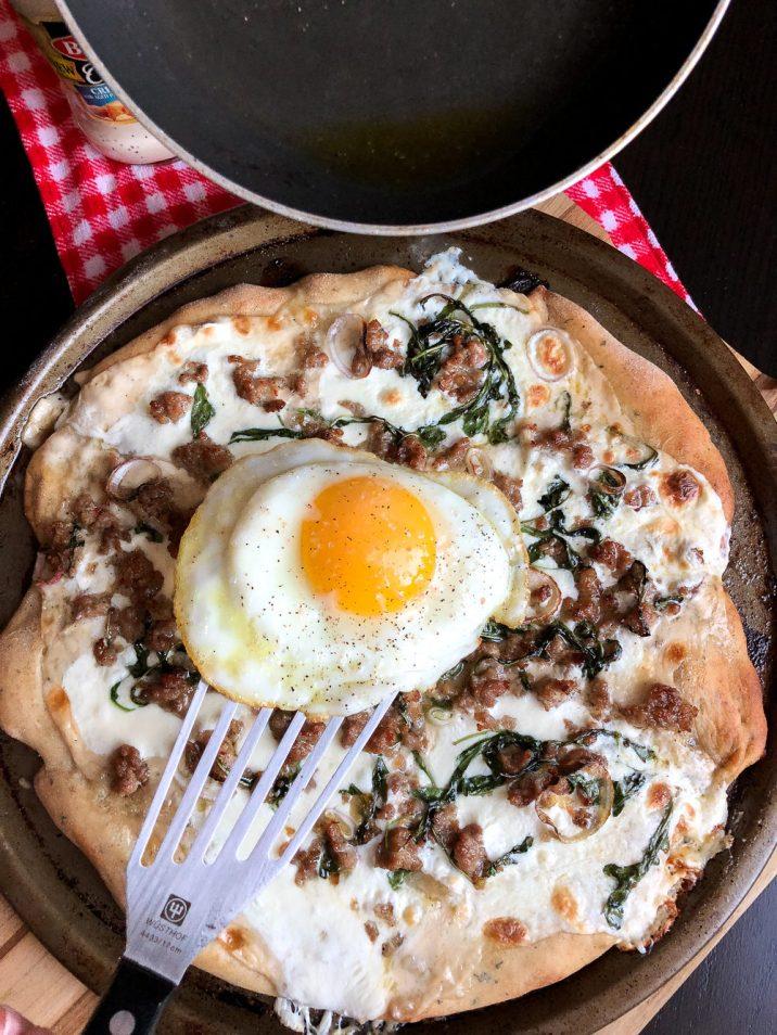Bertolli white pizza recipe