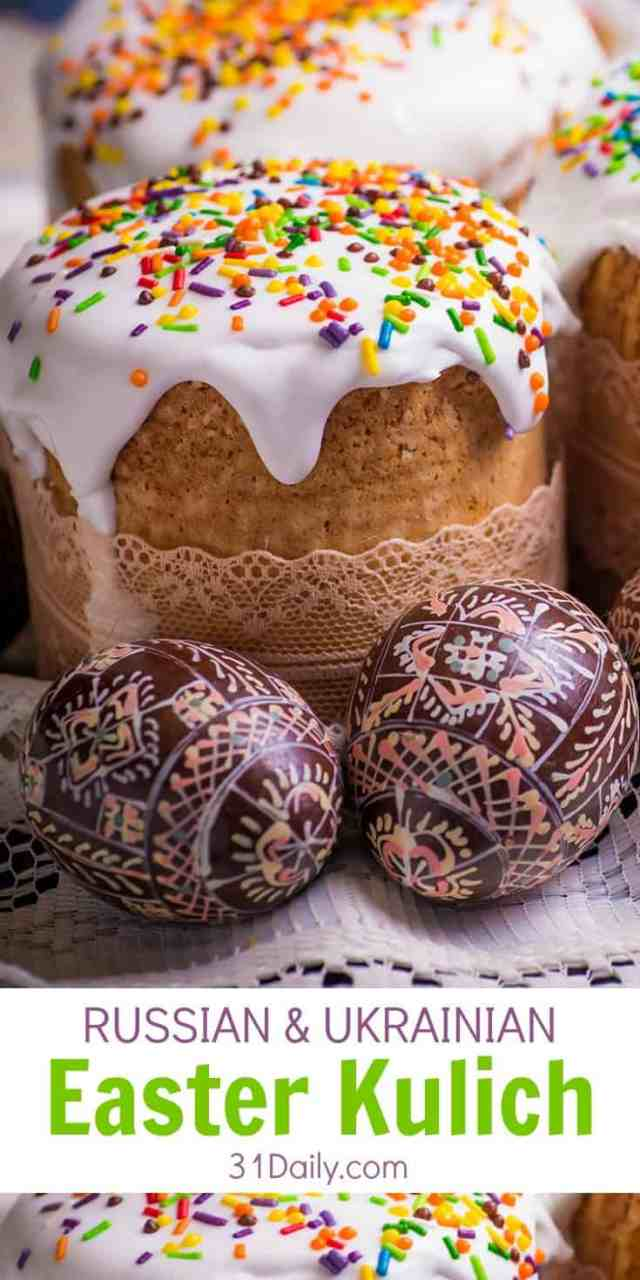 Historically Symbolic Russian Kulich Easter Bread | 31Daily.com